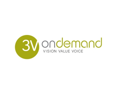 Logo - 3v on demand - Public relations
