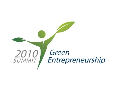 Logoontwerp - Green entrepreneurship summit 2010