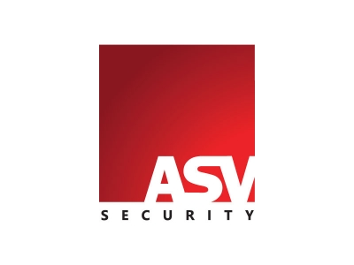 Logodesign - ASV security - beveiliging