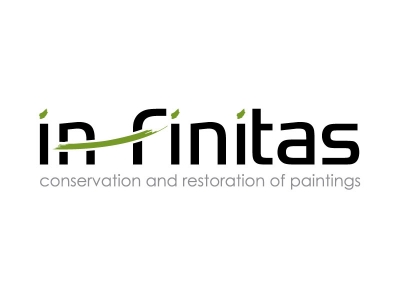 Logodesign - In-finitas - kunstrestauratie